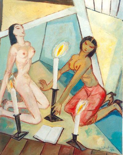 """Walter Wellenstein, '""""Ekstatischer Kult""""', 1953"""