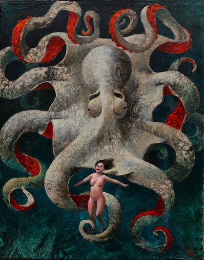 Sylvain Lefebvre, 'Marie and the White Octopus', 2021