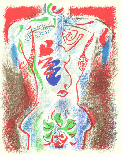 André Masson, 'XXe Siecle no. 38', 1972