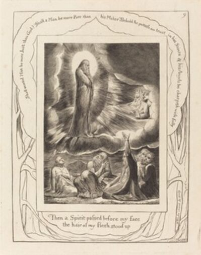 William Blake, 'The Vision of Eliphaz', 1825