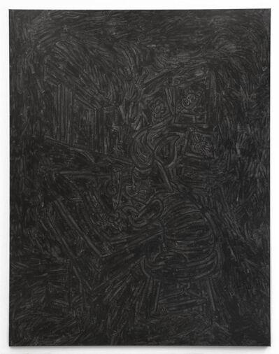 Pierre Bismuth, 'BLACK PAINTING - Piglet the Draftsman', 2007