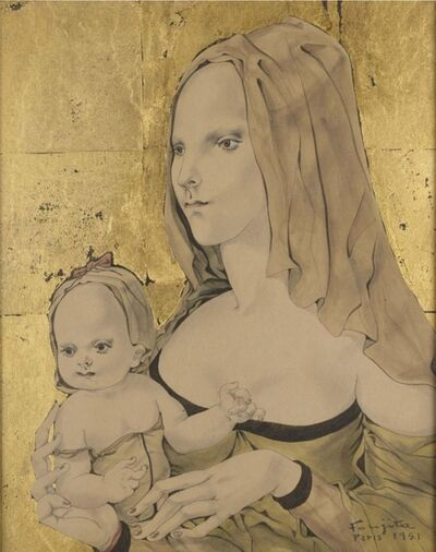 Léonard Tsugouharu Foujita, 'Maternité', 1951