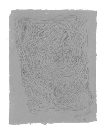 Pat Steir, 'Untitled Drawing Lesson', 2017
