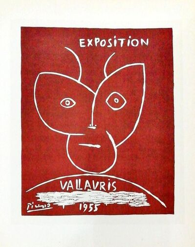 Pablo Picasso, 'Exposition Vallauris - simple', 1959