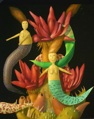 Alan Gerson, 'Mermaid and Chinese Foxnut ', 2016