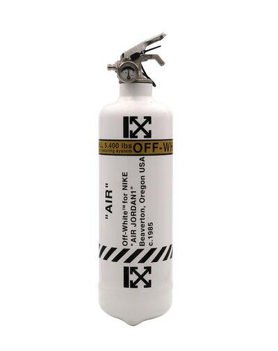 Jaler Fine Art, 'Extinguisher OFF WHITE - White', 2021