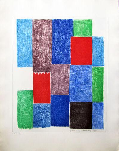 Sonia Delaunay, ' Avec moi-même planche 10', 1970
