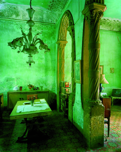 Michael Eastman, 'Green Dining Room'