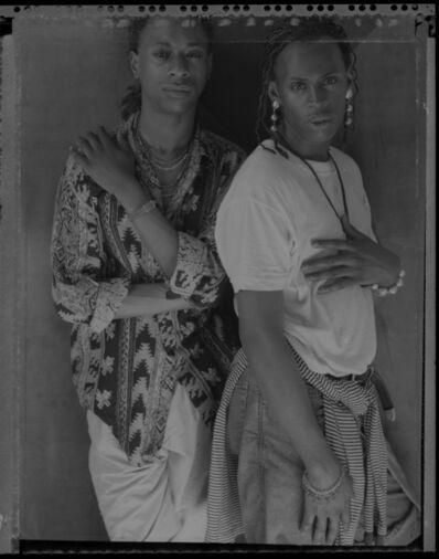 Marsha Burns, 'Marcus and Edwin', 1980-1985