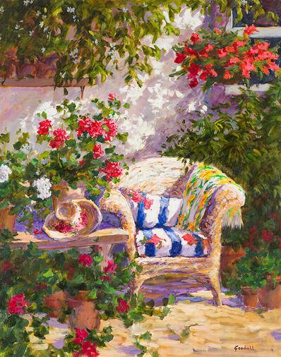 Dawn Gooddall, 'Pleasure Corner of the Garden', 20th Century