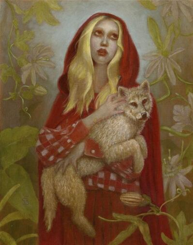 Deirdre Sullivan-Beeman, 'Red Riding Hood Girl', 2020