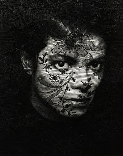 Greg Gorman, 'Michael Jackson Lace', 1987