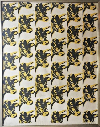 Richard Pettibone, 'Andy Warhol Cow Wallpaper', 1971