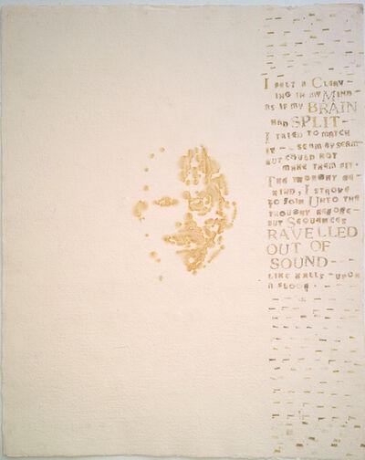 Lesley Dill, 'Portrait', 2000