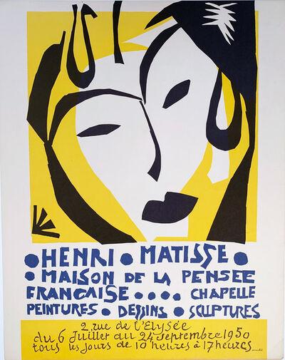 Henri Matisse, 'Maison de la Pensee', 1950