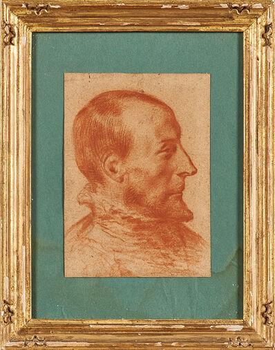 Dutch School, 'Old Master portrait of a man'