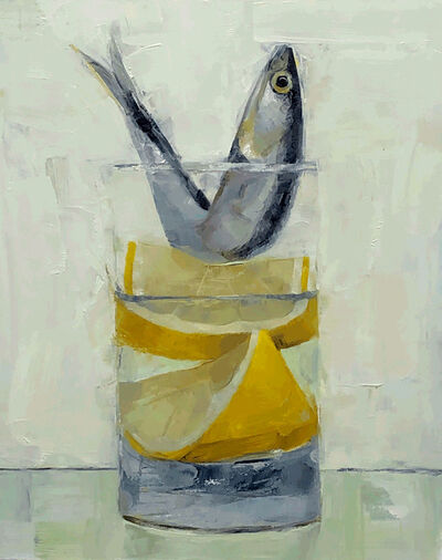 Tom Giesler, 'Floral 41: anchovy lemon wedge', 2020