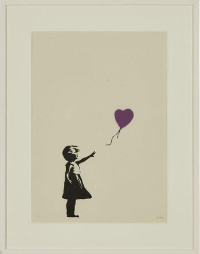 Banksy, 'Girl With Balloon ', 2004