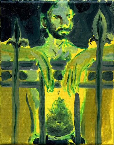 Anthony Cudahy, 'Ian on the border ii', 2020