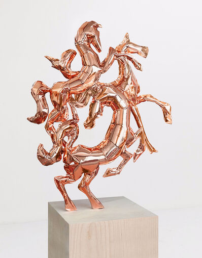 Adam Parker Smith, 'Horses of Helios (Rose gold)', 2018