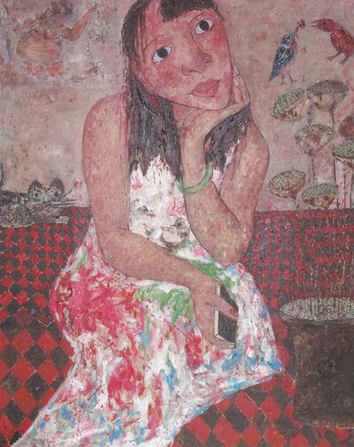 Hao Li, 'Woman in love', 2014