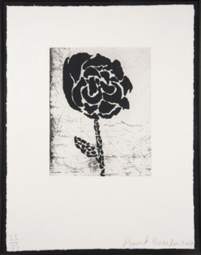 Donald Baechler, 'Flower I', 2007