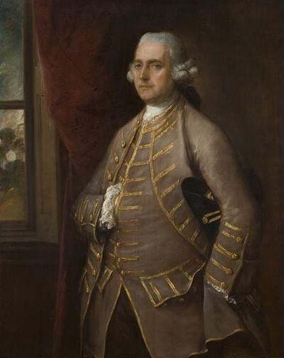 Thomas Gainsborough, 'Portrait of Sir Walter Barttelot, High Sheriff of Sussex', 1762
