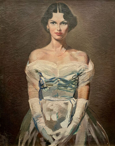 Charles Ellis, 'Portrait of a Woman', 20th Century