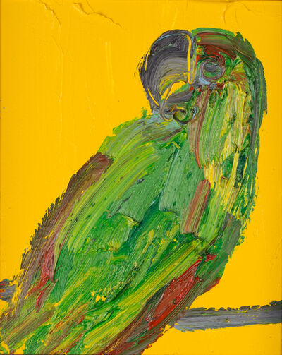 Hunt Slonem, 'Untitled Green/Yellow Parrot', 2012