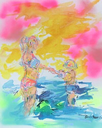 Nicole Leidenfrost, 'Schwimmvergnügen', 2020