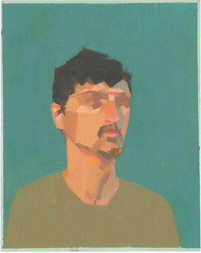Christina Vogel, 'Man in Green Shirt', ca. 2015