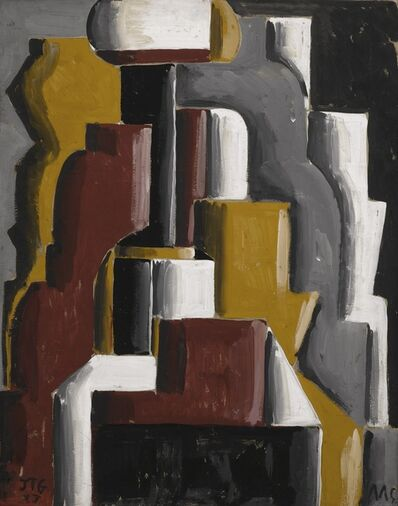 Joaquín Torres-García, 'Formas abstractas ensambladas (Assembled Abstract Forms)', 1937
