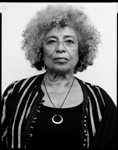 Oliver Abraham, 'Angela Davis, civil rights movement activist, philospher', 2018