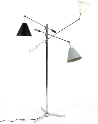 Arredoluce, 'Three Arm Floor Lamp', 1952