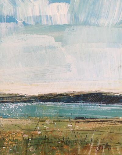 Sarah Carrington, 'Fields and Sea, Iona', 2018