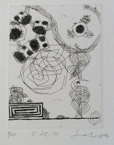 Frank Lobdell, '5.25.90', 1990