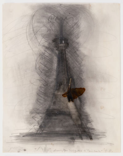 Jim Dine, 'Drawing for Paris Smiles', 1975