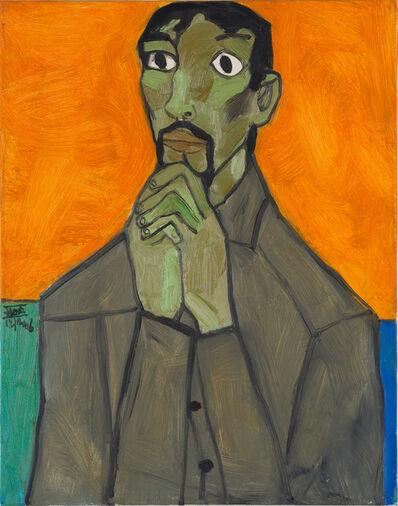Dang Xuan Hoa, 'Self Portrait (Praying)', 2006