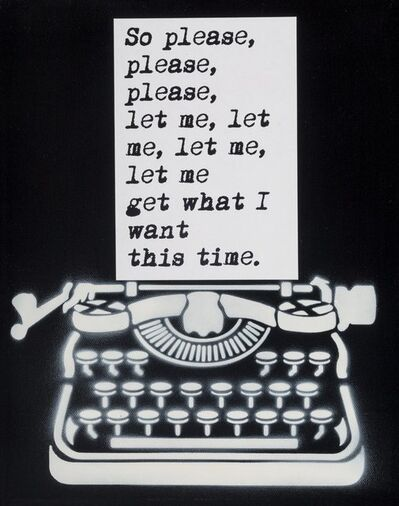 WRDSMTH, 'Please Let Me Get What I Want This Time', 2018