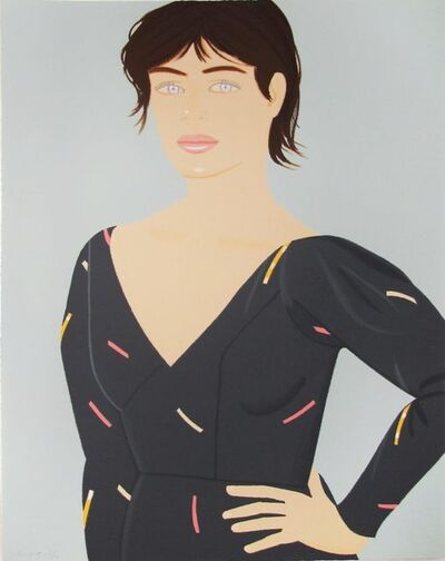 Alex Katz, 'Gray Dress (Laura)', 1992
