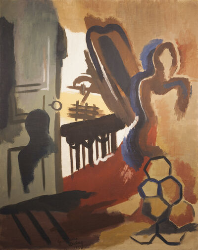 Germaine Derbecq, 'Le balcon', 1930