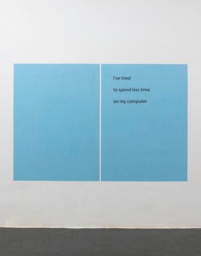 Rafaël Rozendaal, 'RR Haiku 140', 2015
