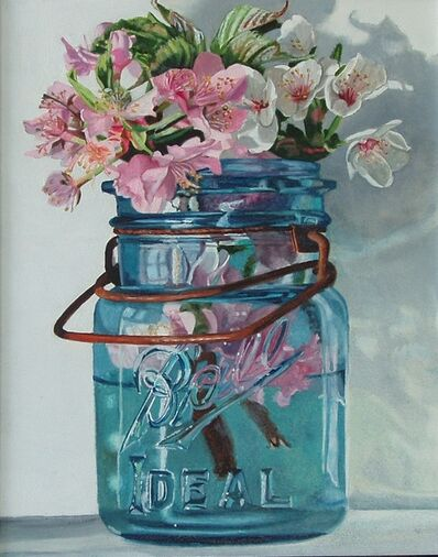 Peggie Blizard, 'Quince and Cherry Blossoms', 2021
