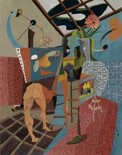 Charles Elmer Harris, 'Studio B', 1951