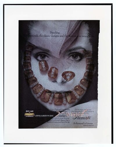 Robert Heinecken, 'PP/Deneuve', 1988