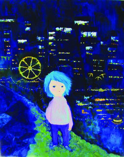 Kiyoka Yamagata, 'Night of Circus Town'