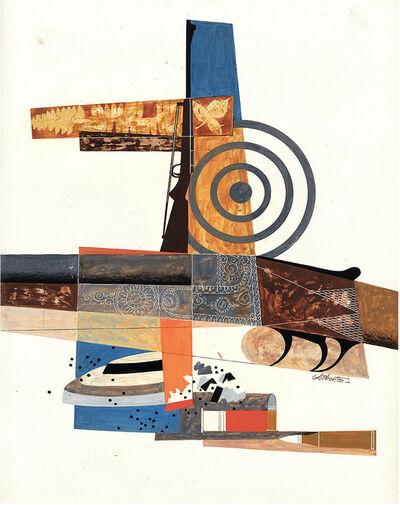 John Atherton, '     Guns and Shells Abstraction', ca. 1949