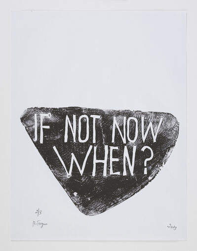 Barthélémy Toguo, 'If Not Now When?', 2019