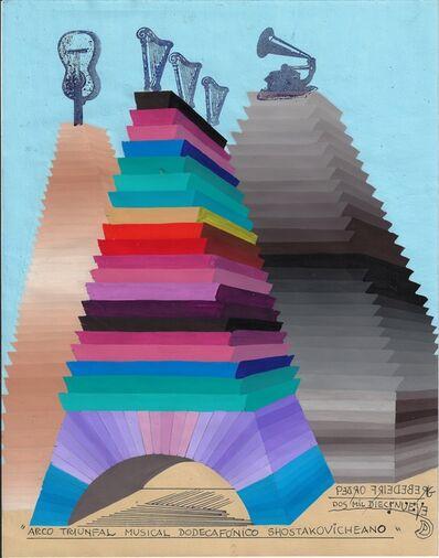 Pedro Friedeberg, 'Arco triunfal musical dodecafónico Shostakovicheano', 2019
