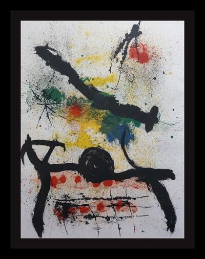 Joan Miró, 'Graphikmappe Hochschule St. Gallen', 1967